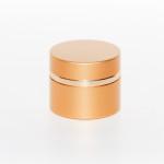 vasetto cilindrico dorato