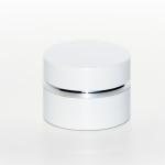 vasetto cilindrico bianco