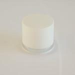 Tappo bianco riga argento - 9050401